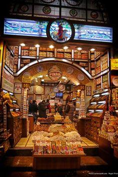Spice store Istanbull, Turkey
