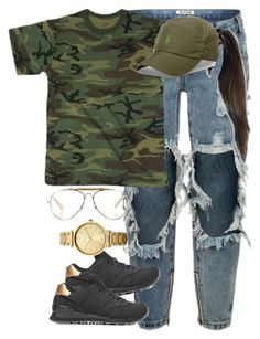 """16:14"" by mcmlxxi ❤ liked on Polyvore featuring OneTeaspoon, New Balance, Polo Ralph Lauren, CÉLINE and Oasis"