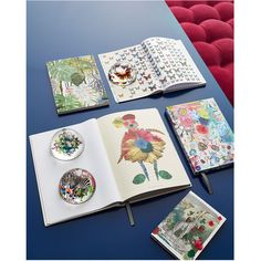 Christian Lacroix Couture Candy Notebook ($21) ❤ liked on Polyvore featuring home, home decor and stationery