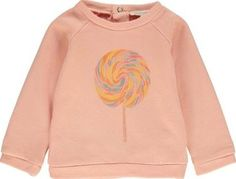 Hundred Pieces Lolly pop Baby sweatshirt Peach `3 months,6 Fabrics : Soft Cotton Flannel Jersey Details : Print, Straight cut, Round neckline, Long sleeves, Raglan sleeves, Popper fastenings at the back, Ribbing Laver le produit sur lenvers afin de ne pas end http://www.comparestoreprices.co.uk/january-2017-7/hundred-pieces-lolly-pop-baby-sweatshirt-peach-3-months-6.asp