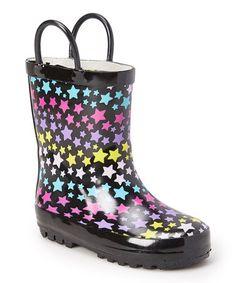 This Star Rain Boot is perfect! #zulilyfinds