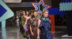 Lauren Sharkey Yahoo Style UK Henry Holland may have celebrated his tenth anniversary last season but that didn't stop him from pulling out all the stops once again. Collating a whole mixture of references stretching from Western territory to race tracks, the fun-is-foremost designer majorly clashed prints. Pink race flag patterns juxtaposed with cow hide.…