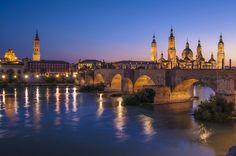 Night in Zaragoza by Miguel Moreno Dobato on 500px