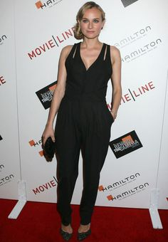 Diane Kruger 100% Black