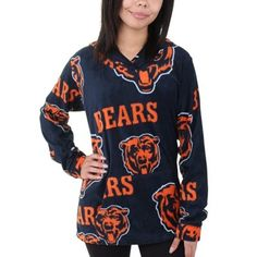 Chicago Bears Junk Food Formation Crew Sweatshirt �C Gray | Chicago ...