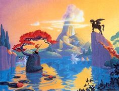 HEAVEN! Walt Disney's 1940 classic Fantasia.. Pastoral Symphony