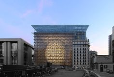 Philippe SAMYN and PARTNERS, architects & engineers - Project - EUROPEAN COUNCIL and COUNCIL of the EUROPEAN UNION - Image1