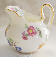 Artful Affirmations: Tea Cup Tuesday-Pink and Cream