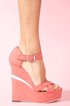 Electric Platform Wedge in Shoes at Nasty Gal
