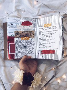 Art journal + poetry for suicide prevention by Noor Unnahar (aesthetically pleasing tumblr photos & diy craft scrapbooking ideas inspiration)