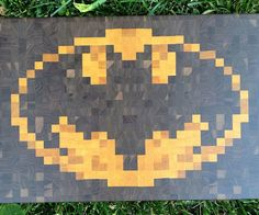 Give your kitchen a bit of billionaire flair with the Batman cutting board. Made from walnut, it comes emblazoned with the 8-bit version of the iconic bat symbol and offers ample space for chopping, slicing, mincing, and maybe just a little bit of crime fighting.