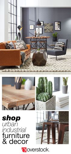 Find everything you need to give your living room an Urban Industrial decor refresh at Overstock.com. Shop thousands of products and beautiful new furniture at the lowest prices---coffee tables, lamps, home décor, and more! Overstock.com -- All things home. All for less.