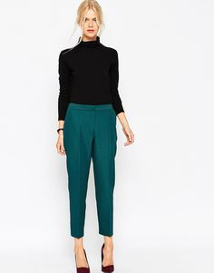 ASOS+Textured+Cigarette+Trouser
