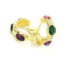 streitstones-Metall-Ohrclips vergoldet mit Swarovski Lagerauflösung bis zu 50 % Rabatt streitstones http://www.amazon.de/dp/B00TU5AKQ0/ref=cm_sw_r_pi_dp_Zoh6ub1ND15AM, streitstones, Ohrring, Ohrringe, earring, earrings, Ohrclips, earclips, bling, silver, gold, silber, Schmuck, jewelry, swarovski