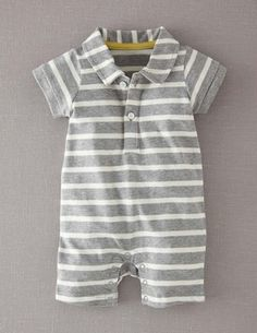sweet romper for the little man