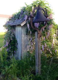 Old outhouse...