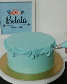 Técnica de ornamentos Belalu ...#wiltoncakedecorating #wiltoncakes #festaemcasa…