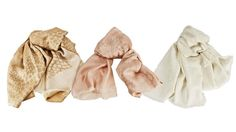 Luxurious Italian Scarves  By Lupetta  Designed by company founder and creative director Greta Bonvini, these extremely fine cashmere and silk scarves are the perfect blend of style and versatility. Handmade in Italy by traditional craftsmen, they add a finishing touch to any ensemble.