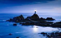 Britain's La Corbiere Lighthouse Jersey
