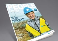 People & Power by Statkraft. Pinned from www. Power To The People, Magazine Design, Hats, Hat