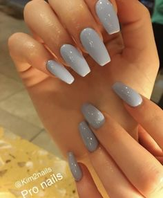 This series deals with many common and very painful conditions, which can spoil the appearance of your nails. SPLIT NAILS What is it about ? Nails are composed of several… Continue Reading → Aycrlic Nails, Gray Nails, Cute Nails, Pretty Nails, Coffin Nails, Gray Nail Polish, Coffin Acrylics, Manicures, Best Acrylic Nails