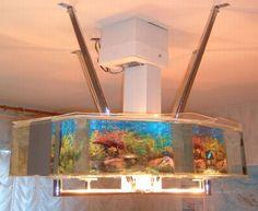 Hanging Aquarium by Lucijan Fajs- space saver