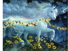 by Ruth Sanderson. One of my favourite unicorn paintings, absolutely gorgeous ♥♡♥