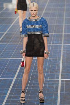 Défilé Chanel Printemps-été 2013