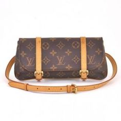 Louis Vuitton Monogram Canvas Pochette Marelle Waist Bag #bags #fashion
