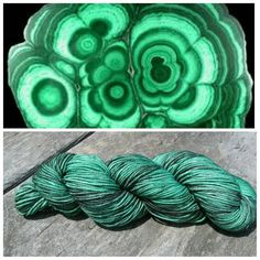 Check out this item in my Etsy shop https://www.etsy.com/listing/398818371/metamorphic-worsted-malachite