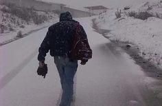 La fuerte nevada que cayó sobre el páramo de Mérida (Fotos)