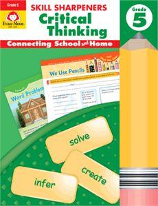 Skill Sharpeners: Critical Thinking Grade 5 - Activitiy Book | Evan-Moor