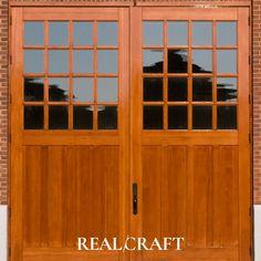 Studio Wyeth Carriage Door and Garage Door Carriage Doors, Door Design, Craftsman, Garage, Studio, Architecture, Classic, Outdoor Decor, Artisan
