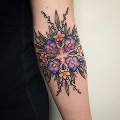 #floral #tattoo #ink