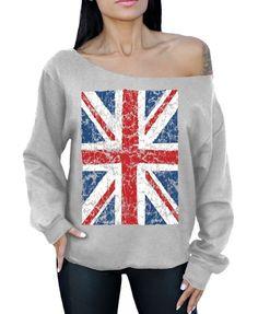 Military patriot hoodie army union jack hoody British flag fashion top green new