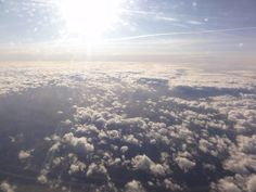 High in the sky!