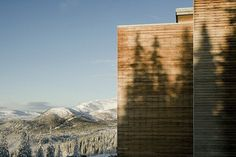 On the very top of Sweden's picturesque Mount Förberget, more than 730 meters above sea level, rests an idyllic getaway. With the warmth of a mom-and-pop operation and the thrilling custom design of master architect Peter Bohlin, the Copperhill...