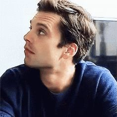 Hi my name is Sebastian Stan and you just fell in love with me.