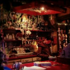 Saturday night beers at Simple Garden, #Budapest ruin bar. Image by @stevieomac. #szimpla, #Hungary. #lp #travel