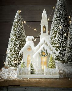 Church in the Woods by Bethany Lowe at Neiman Marcus.