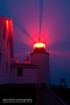 Bass Harbor #Lighthouse in Fog, National Park, #New #England by ralphe http://dennisharper.lnf.com/