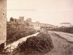 Roma Sparita - L'Aqua Mariana (da qui il nome Marrana) tra Porta Asinaria e Porta Metronia