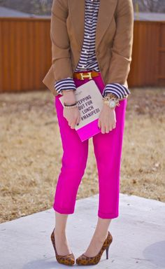 ProTip: Always color coordinate your pants with your iPad case.