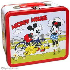Classic Minnie and Mickey Mouse Lunchbox