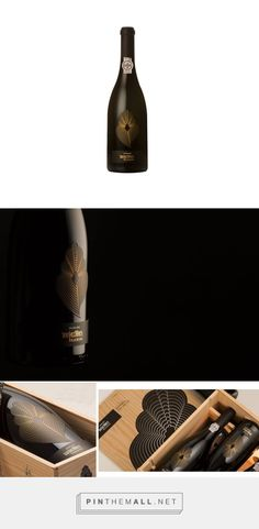 100 Hectares Filigrana wine packaging design by Miguelfreitasdesign (Portugal) - http://www.packagingoftheworld.com/2016/07/100-hectares-filigrana-sg.html