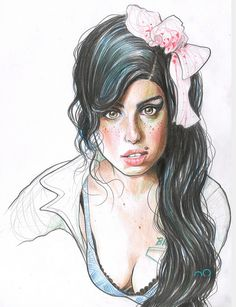 35 Best Amy Winehouse Drawings Images Singers Singer Young Amy