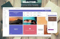Reactor - Bootstrap Admin Template by iamnyasha