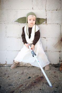 #starwars #halloween #dyi #yoda #costume
