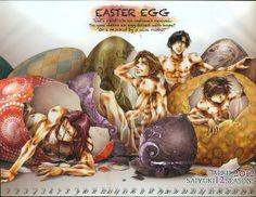 Easter - Kazuya Minekura, Saiyuki