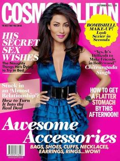 Chitrangada Singh Sexy Cover for Cosmopolitan Magazine September 2012 Issue V Magazine, Magazine Covers, Marie Claire, Vanity Fair, Nylons, Bombshell Makeup, Chitrangada Singh, Interview, Vogue